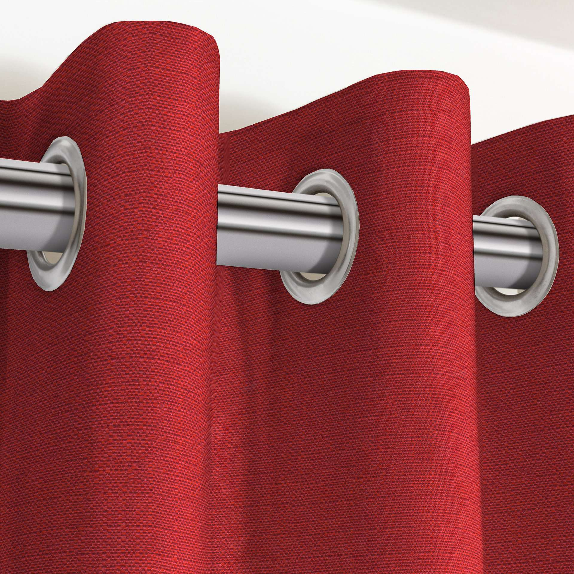 "McAlister Textiles Savannah Wine Red Curtains Tailored Curtains 116cm(w) x 182cm(d) (46"" x 72"")"