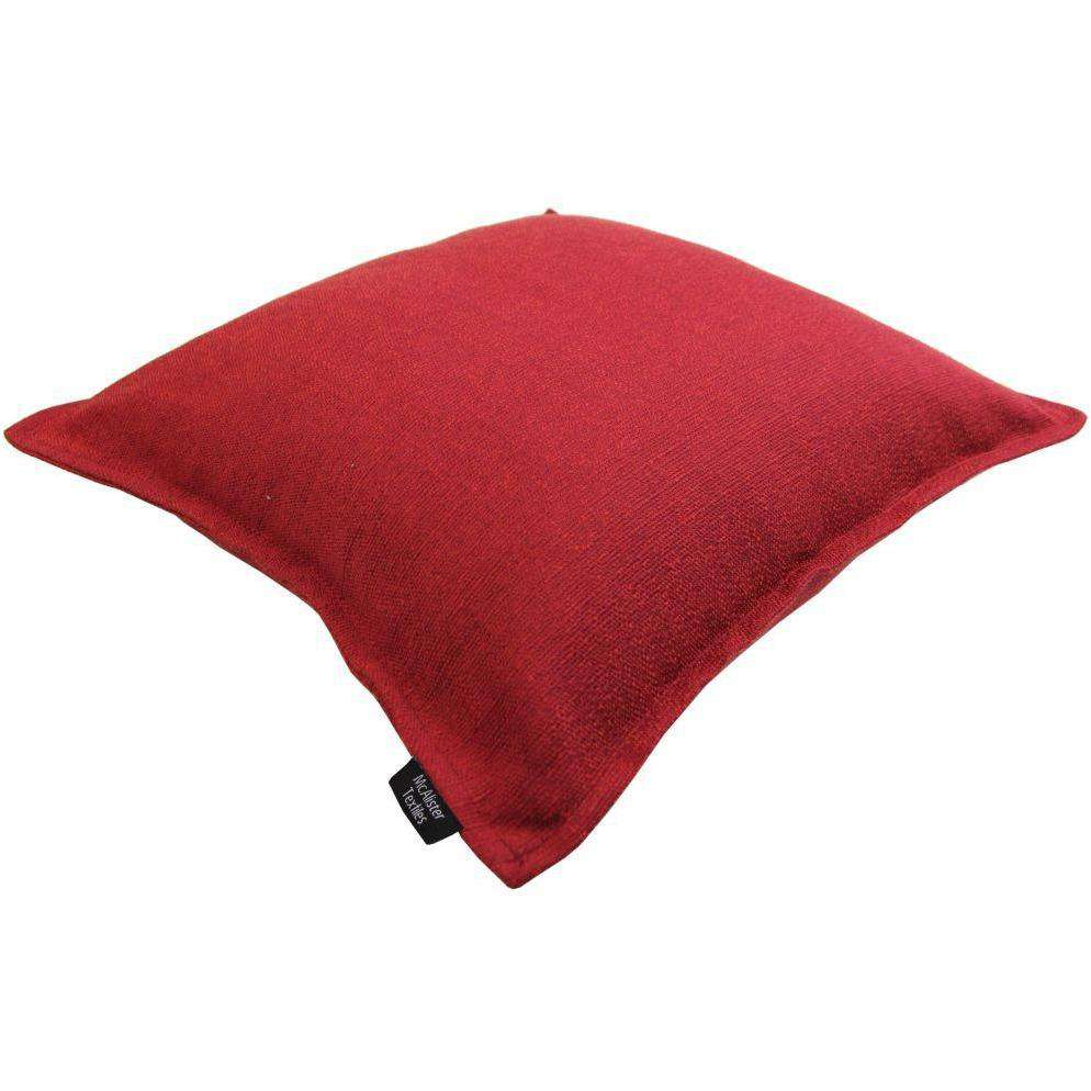 McAlister Textiles Savannah Wine Red Cushion Cushions and Covers