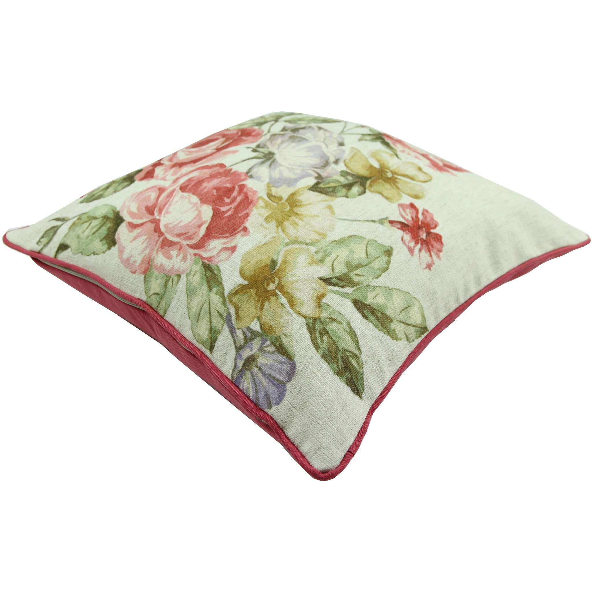 McAlister Textiles Novelty Vintage Floral Velvet Cushion Cushions and Covers