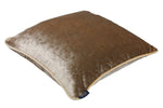 Load image into Gallery viewer, McAlister Textiles Beige Mink Crushed Velvet Cushions Cushions and Covers