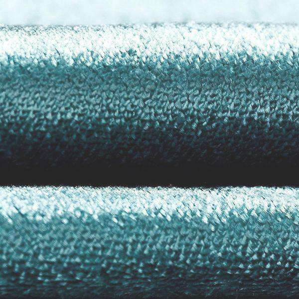 McAlister Textiles Crushed Velvet Duck Egg Blue Fabric Fabrics