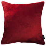 Load image into Gallery viewer, McAlister Textiles Wine Red Crushed Velvet Cushions Cushions and Covers Cover Only 43cm x 43cm