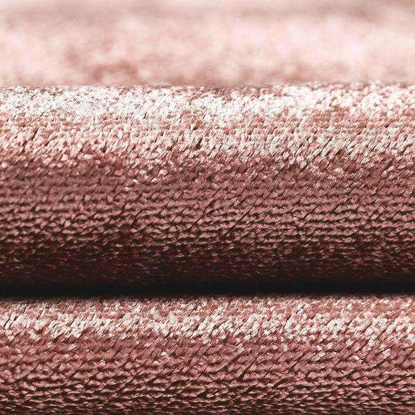 McAlister Textiles Crushed Velvet Rose Pink Fabric Fabrics