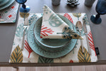 Charger l'image dans la galerie, McAlister Textiles Magda Burnt Orange Cotton Placemat Set Kitchen Accessories