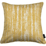 Load image into Gallery viewer, McAlister Textiles Textured Chenille Mustard Yellow Pillow Pillow Polyester Filler 49cm x 49cm
