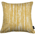 Load image into Gallery viewer, McAlister Textiles Textured Chenille Mustard Yellow Cushion Cushions and Covers Polyester Filler 49cm x 49cm