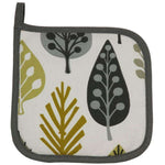 Load image into Gallery viewer, McAlister Textiles Magda Yellow Cotton Print Fabric Trivet Kitchen Accessories