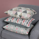 Charger l'image dans la galerie, McAlister Textiles Vita Cotton Print Blush Pink Cushion Cushions and Covers