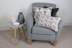 Load image into Gallery viewer, McAlister Textiles Lotta Blush Pink + Grey Pillow Pillow