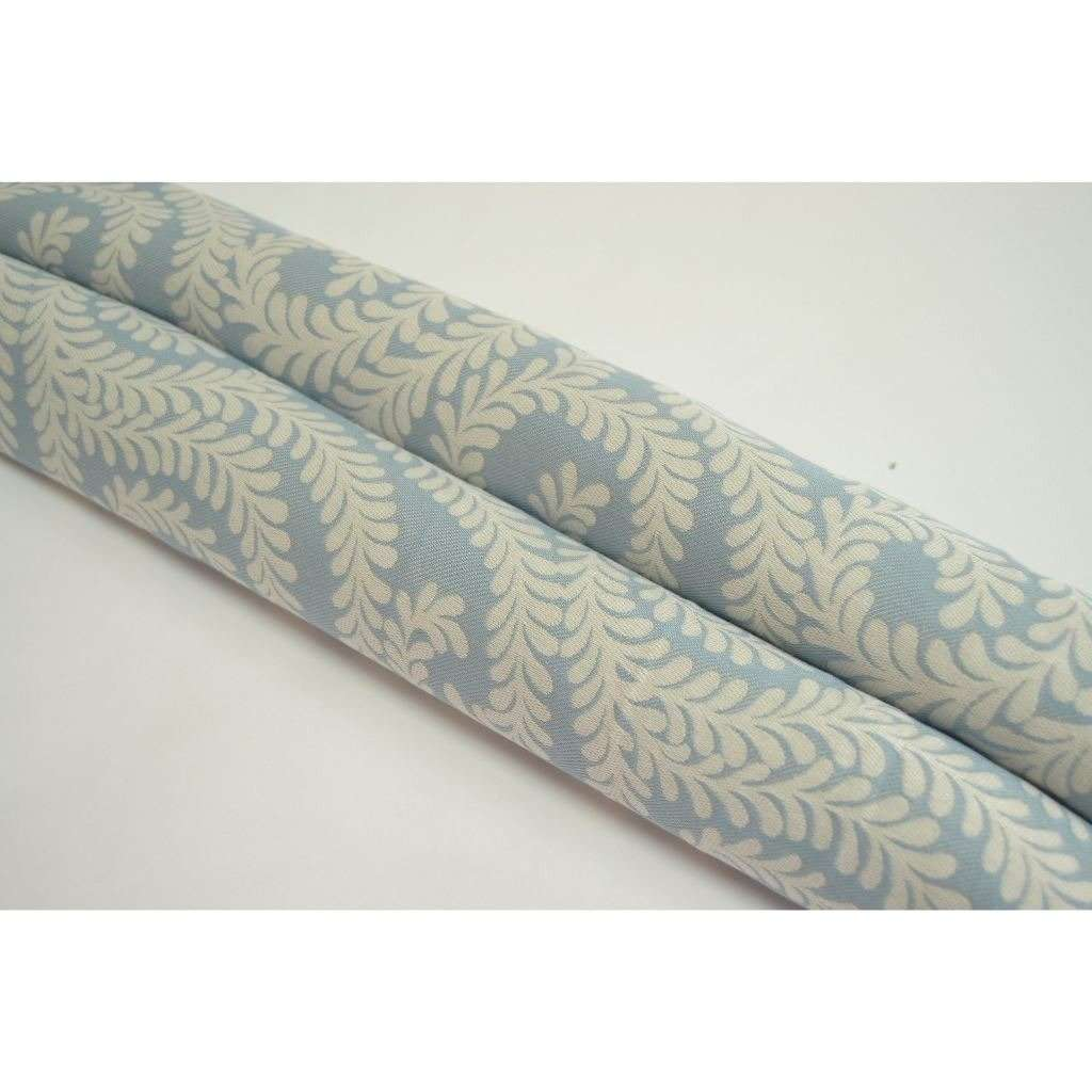 McAlister Textiles Little Leaf Wedgewood Blue Fabric Fabrics
