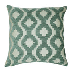 Load image into Gallery viewer, McAlister Textiles Arizona Geometric Duck Egg Blue Pillow Pillow