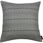 Load image into Gallery viewer, McAlister Textiles Colorado Geometric Black Cushion Cushions and Covers Cover Only 43cm x 43cm