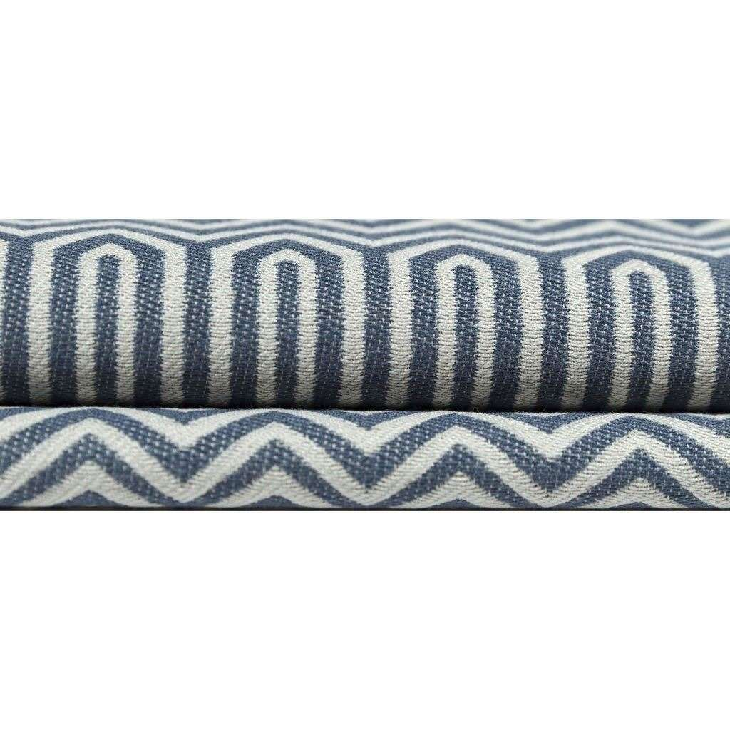 McAlister Textiles Colorado Geometric Navy Blue Pillow Pillow