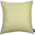 Load image into Gallery viewer, McAlister Textiles Colorado Geometric Yellow Cushion Cushions and Covers Polyester Filler 43cm x 43cm