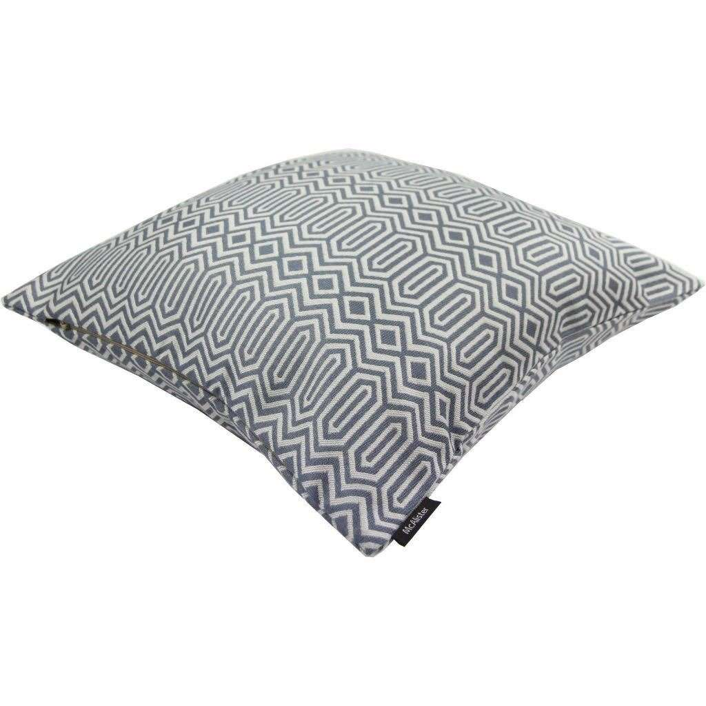 McAlister Textiles Colorado Geometric Navy Blue Cushion Cushions and Covers