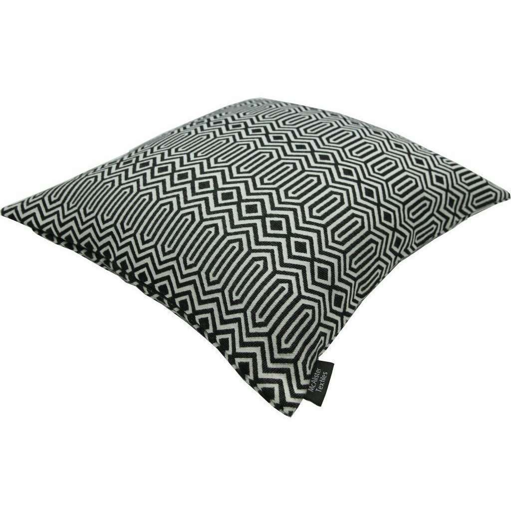 McAlister Textiles Colorado Geometric Black Pillow Pillow