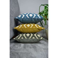 McAlister Textiles Arizona Moroccan Wedgewood Blue Cushion-Cushions and Covers-