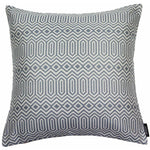 Load image into Gallery viewer, McAlister Textiles Colorado Geometric Navy Blue Cushion Cushions and Covers Cover Only 43cm x 43cm