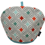 Load image into Gallery viewer, McAlister Textiles Laila Burnt Orange Cotton Print Tea Cosy Kitchen Accessories