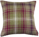 Load image into Gallery viewer, McAlister Textiles Angus Purple + Green Tartan Pillow Pillow