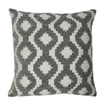 Carica l'immagine nel visualizzatore di Gallery, McAlister Textiles Arizona Geometric Charcoal Grey Pillow Pillow Cover Only 43cm x 43cm