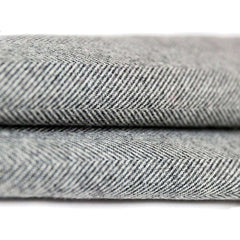 McAlister Textiles Herringbone Boutique Wool Feel Charcoal Grey & Yellow Throw-Throws and Runners-