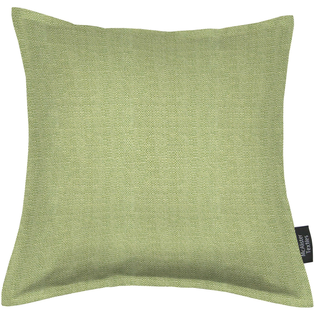 McAlister Textiles Savannah Sage Green Cushion Cushions and Covers Cover Only 43cm x 43cm