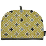 Load image into Gallery viewer, McAlister Textiles Laila Yellow Cotton Print Tea Cosy Kitchen Accessories