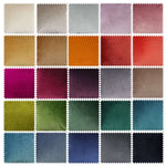 Load image into Gallery viewer, McAlister Textiles Matt Charcoal Grey Velvet Fabric Fabrics
