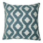 Load image into Gallery viewer, McAlister Textiles Arizona Geometric Wedgewood Blue Pillow Pillow Cover Only 43cm x 43cm