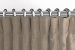 Carica l'immagine nel visualizzatore di Gallery, McAlister Textiles Panama Plain Taupe Curtains Tailored Curtains