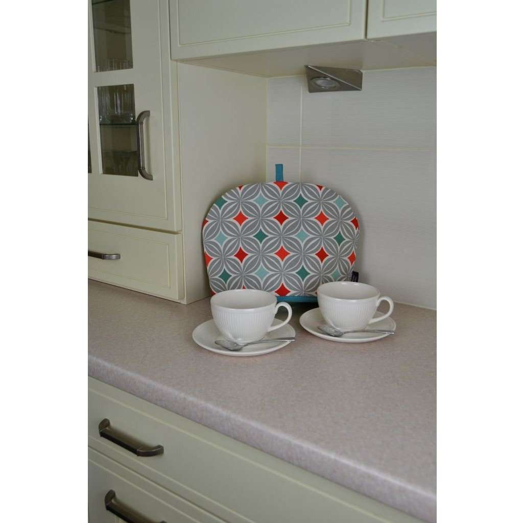 McAlister Textiles Laila Burnt Orange Cotton Print Tea Cosy Kitchen Accessories
