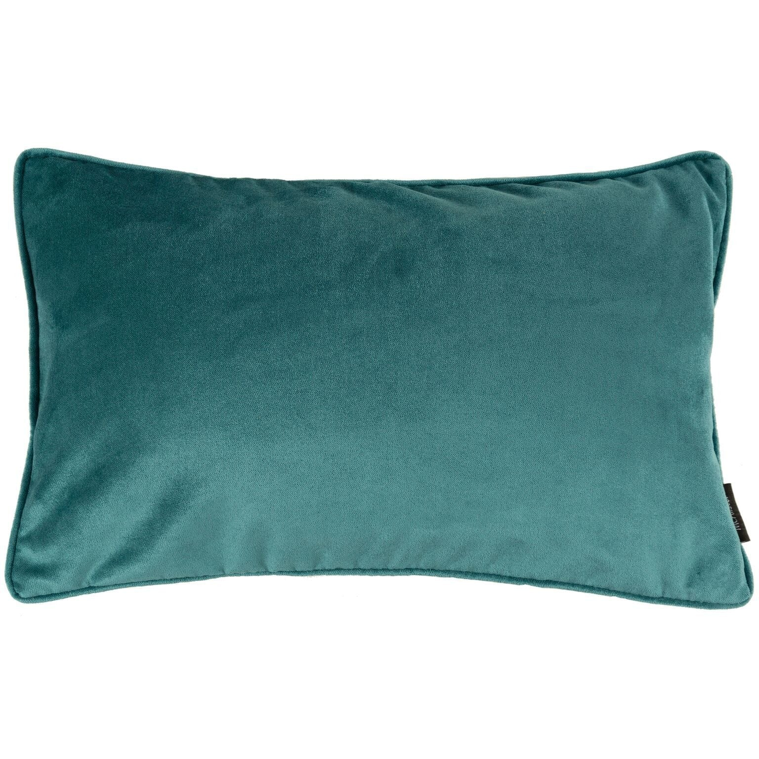 McAlister Textiles Matt Blue Teal Velvet Pillow Pillow Cover Only 50cm x 30cm
