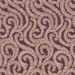 Load image into Gallery viewer, McAlister Textiles Little Leaf Aubergine Purple Curtains Tailored Curtains