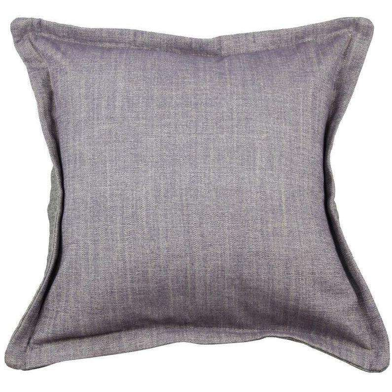 McAlister Textiles Rhumba Accent Lilac Purple + Grey Cushion Cushions and Covers Cover Only 43cm x 43cm