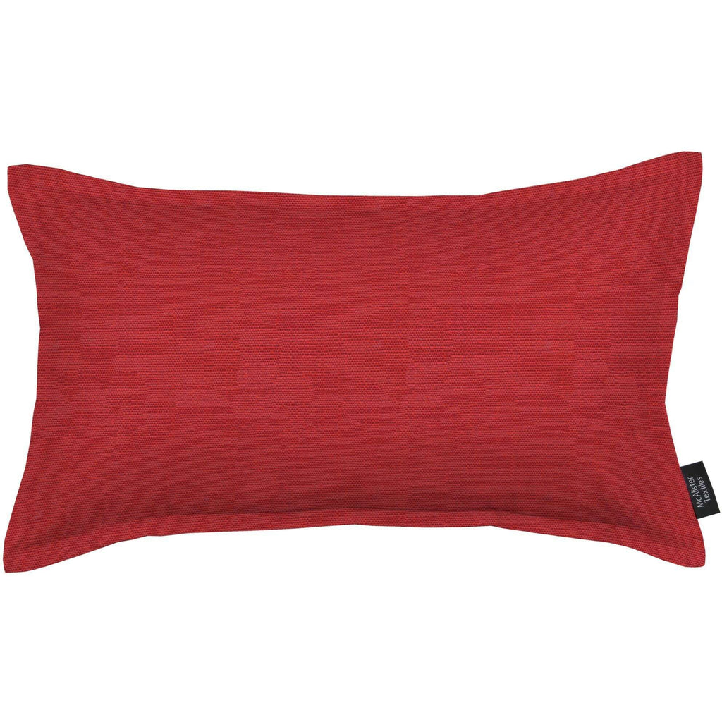 McAlister Textiles Savannah Wine Red Cushion Cushions and Covers Cover Only 50cm x 30cm