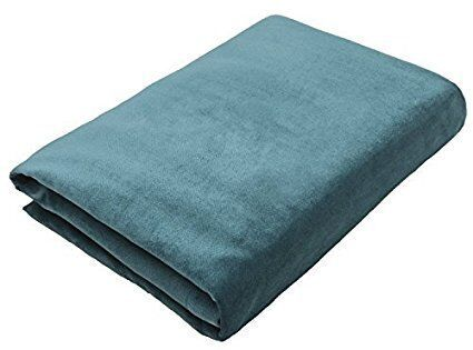 McAlister Textiles Matt Petrol Blue Velvet Bedding Set Bedding Set