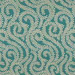 Load image into Gallery viewer, McAlister Textiles Little Leaf Teal Curtains Tailored Curtains