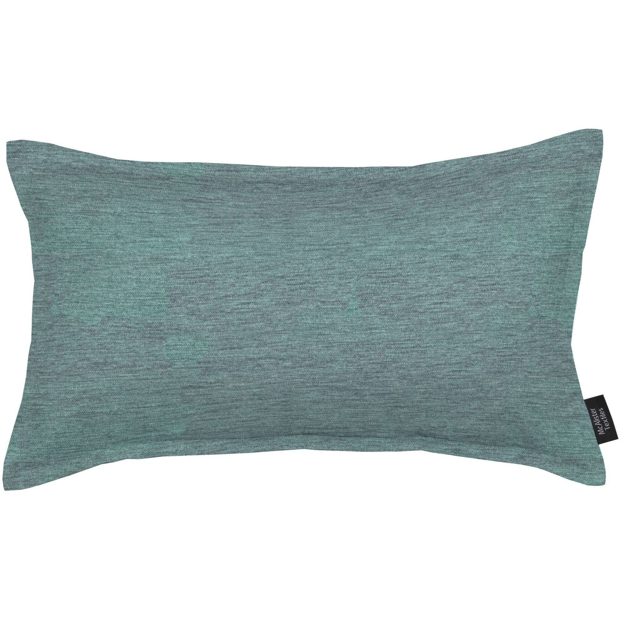 McAlister Textiles Plain Chenille Wedgewood Blue Cushion Cushions and Covers Polyester Filler 60cm x 40cm
