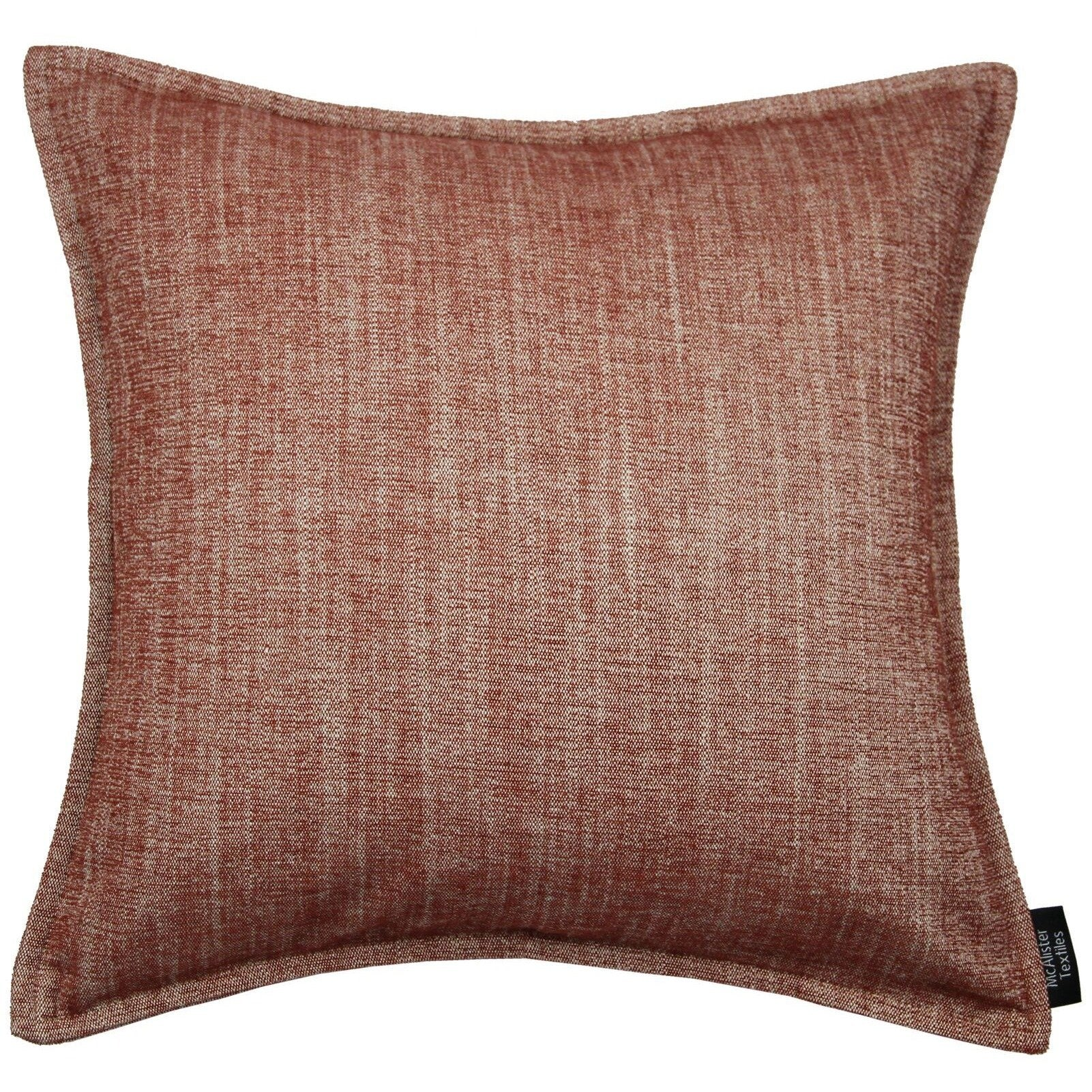 McAlister Textiles Rhumba Burnt Orange Pillow Pillow Cover Only 43cm x 43cm