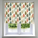 Load image into Gallery viewer, McAlister Textiles Magda Cotton Print Burnt Orange Roman Blind Roman Blinds Standard Lining 130cm x 200cm