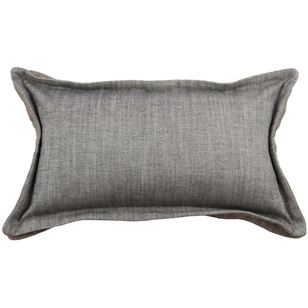 McAlister Textiles Rhumba Accent Grey + Taupe Beige Pillow Pillow Cover Only 50cm x 30cm