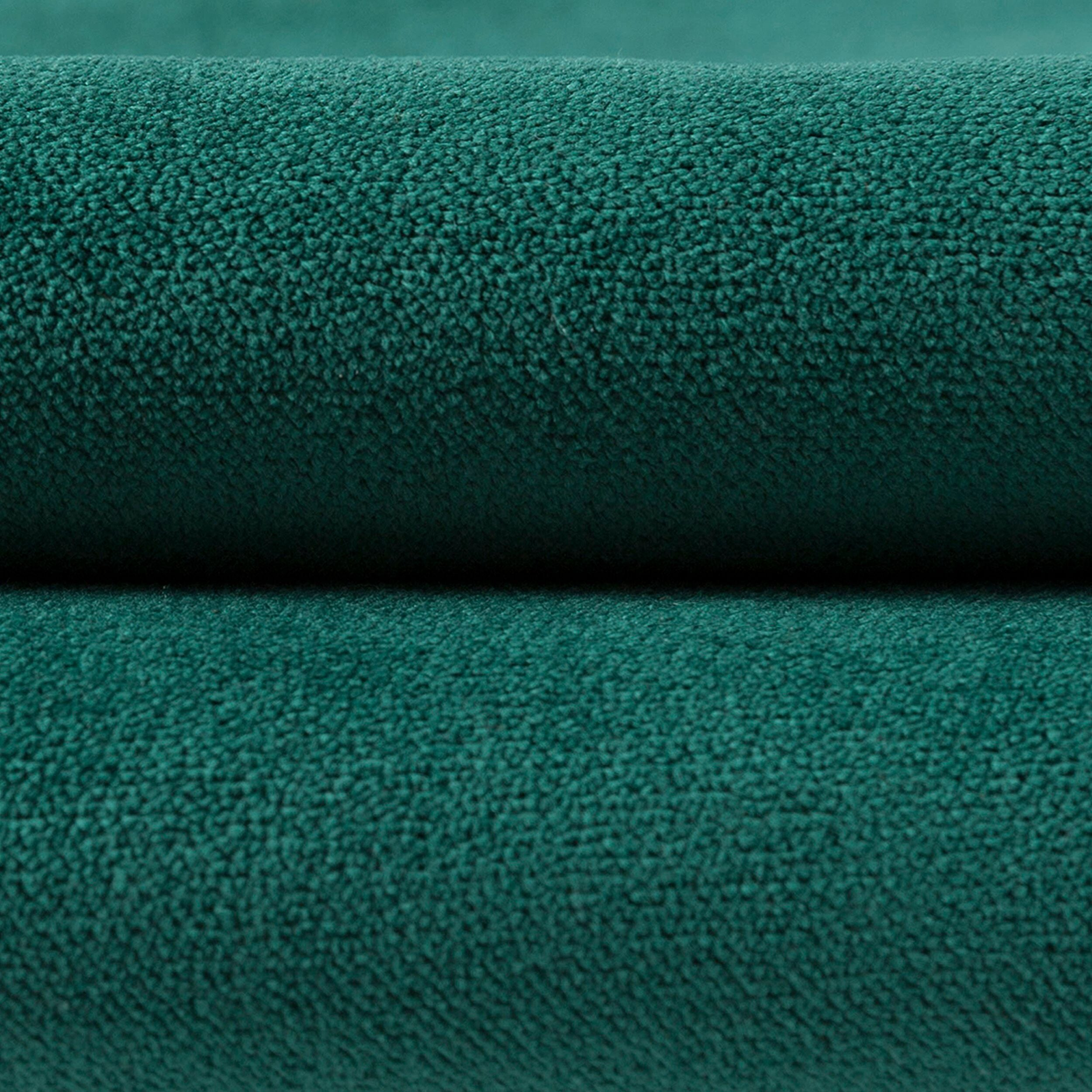 McAlister Textiles Matt Emerald Green Velvet 43cm x 43cm Cushion Sets Cushions and Covers