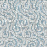 Load image into Gallery viewer, McAlister Textiles Little Leaf Wedgewood Blue Roman Blind Roman Blinds
