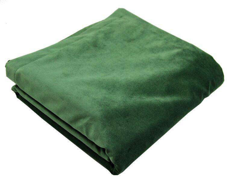 McAlister Textiles Matt Moss Green Velvet Bedding Set Bedding Set