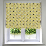 Load image into Gallery viewer, McAlister Textiles Laila Cotton Ochre Yellow Roman Blind Roman Blinds Standard Lining 130cm x 200cm