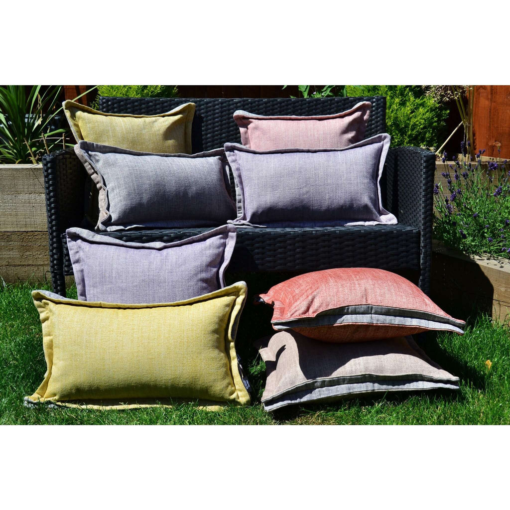 McAlister Textiles Rhumba Accent Grey + Taupe Beige Pillow Pillow
