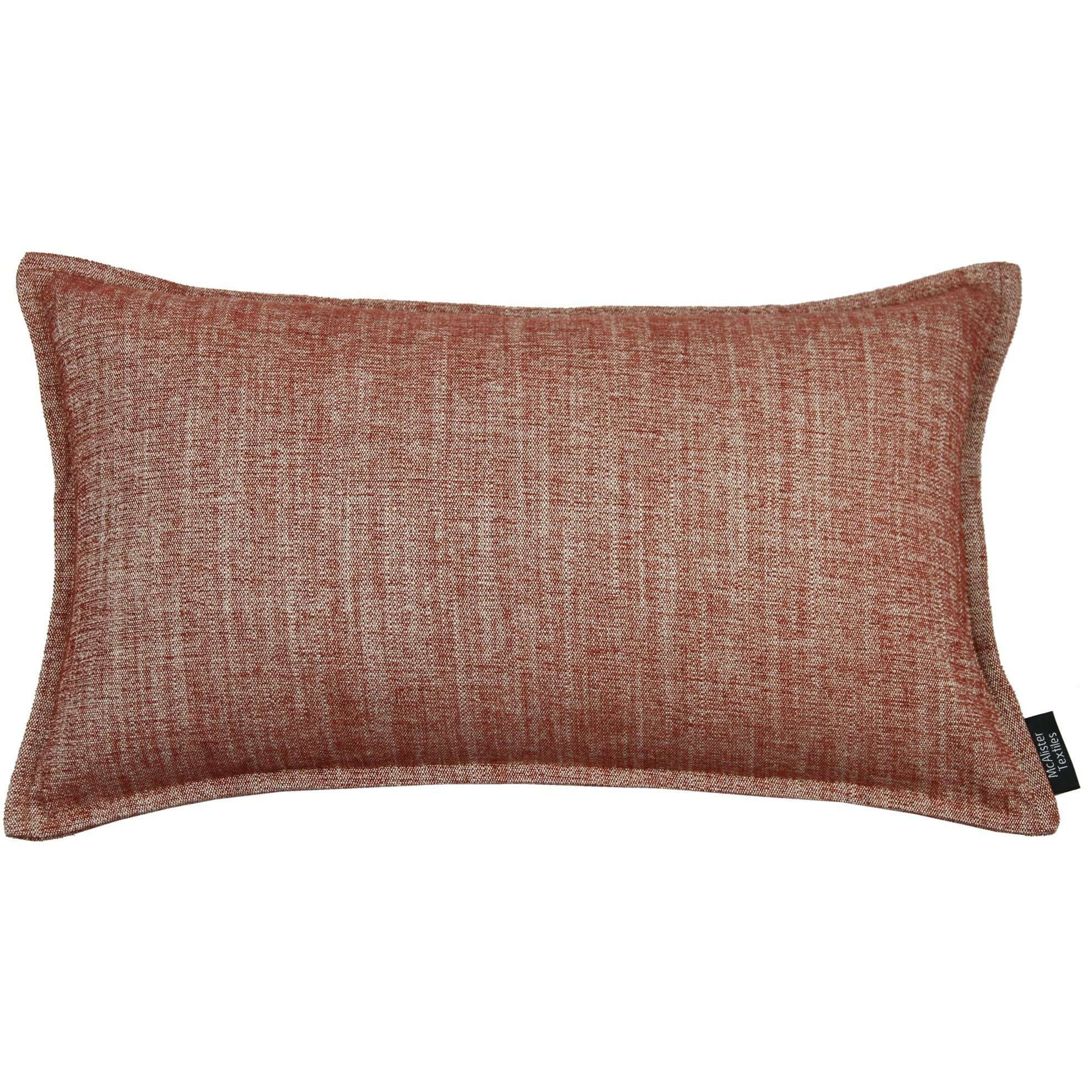 McAlister Textiles Rhumba Burnt Orange Pillow Pillow Cover Only 50cm x 30cm