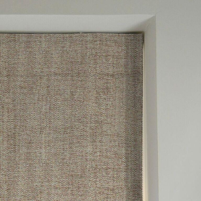 McAlister Textiles Rhumba Taupe Beige Roman Blind Roman Blinds