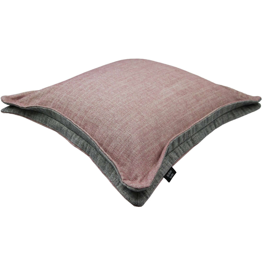McAlister Textiles Rhumba Accent Blush Pink + Grey Cushion Cushions and Covers